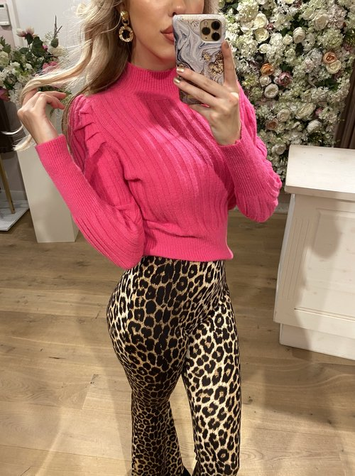 Sweater Col Pink