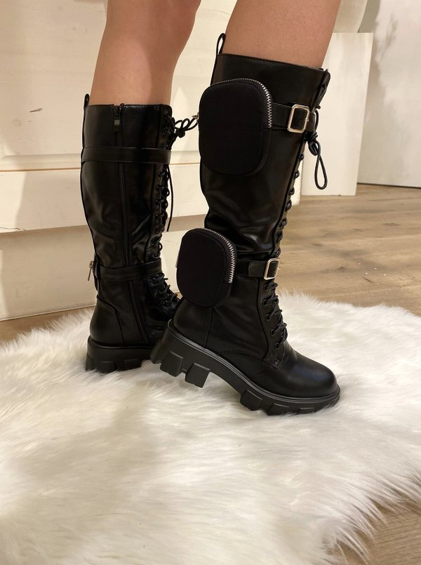 Double Pocket Boots