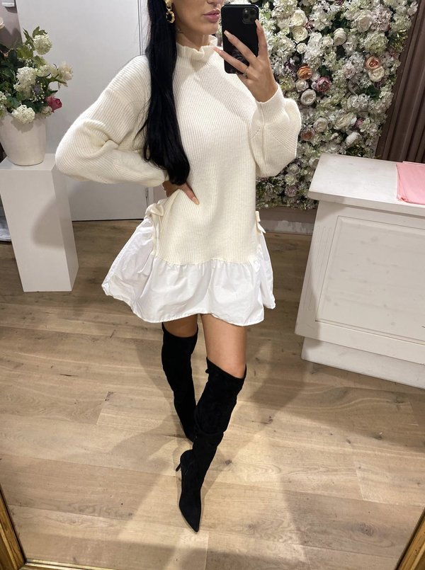 Cutie sweater blouse creme
