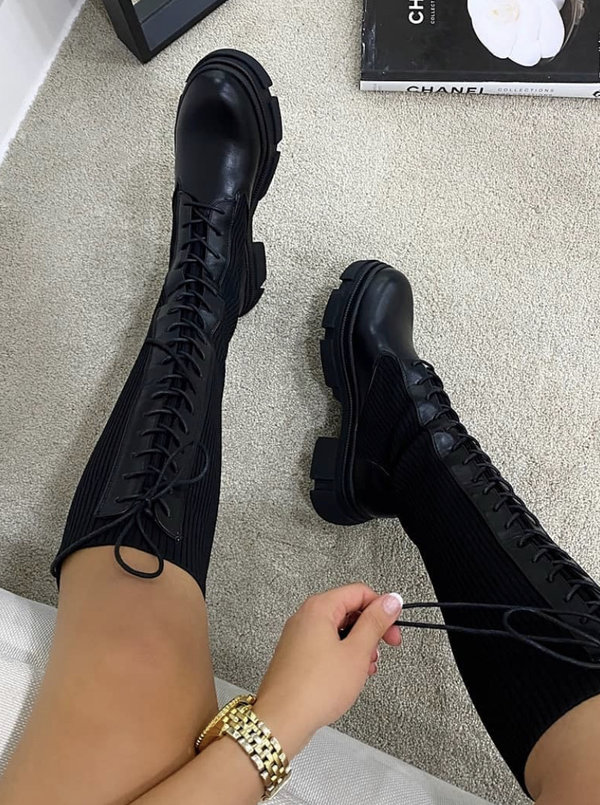 Kelly boots black