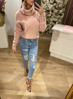 Pearl Button Pink Col