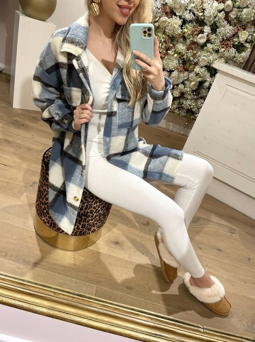 Bobby flannel blouse