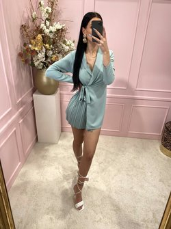 Cutie blazer dress minty