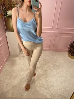 Silky Lace Blue