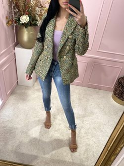 Blazer Tweed Green