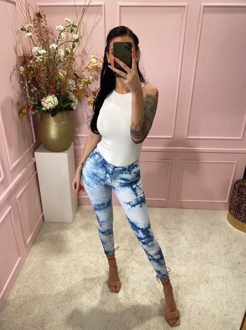 White washed jeans