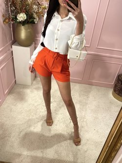 white blouse with bag