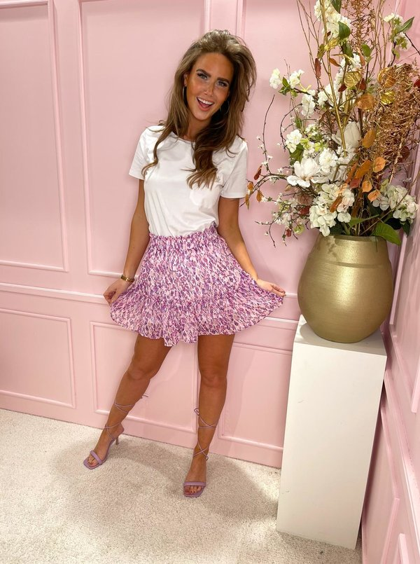 Lucy violet skirt