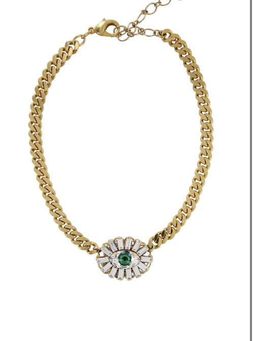 Necklace eyes to mesmerize