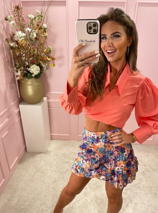 Exotic Floral skirt