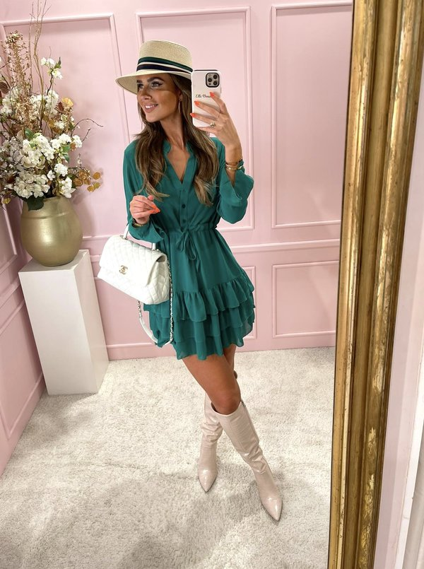 Cathy dress gucci green