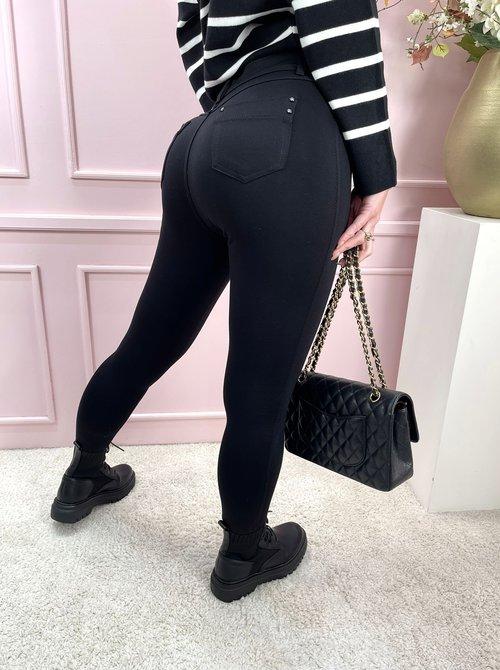 Anna tregging black