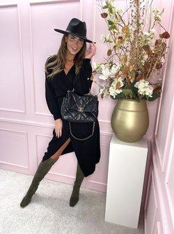 Knit dress Cilia Black
