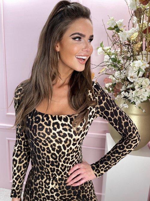 Tee leopard longsleeve