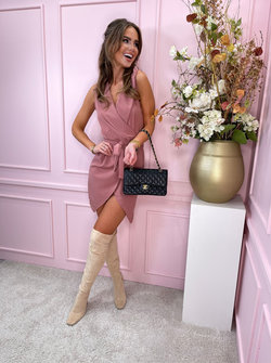 Jules dress pink
