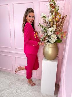 Suit 2 piece pink