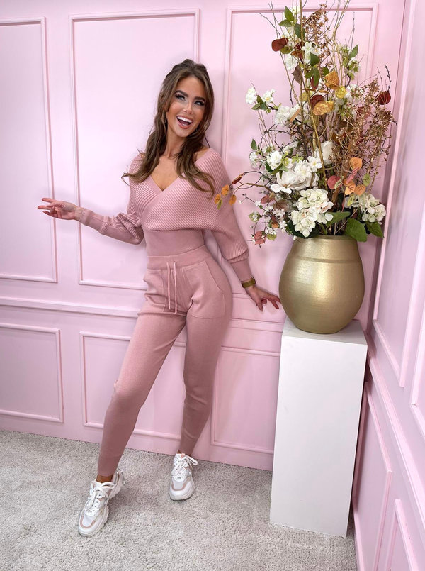 Butterfly lounge set pink