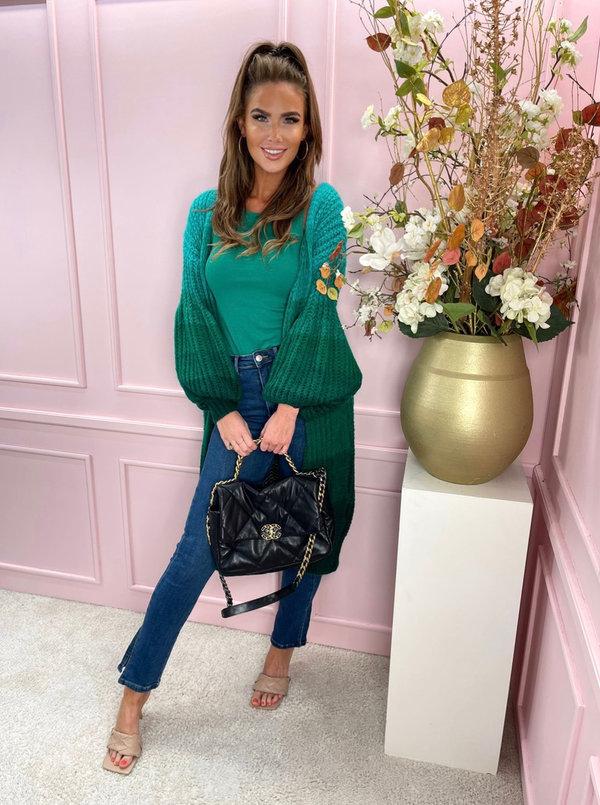 Montpellier vest emerald