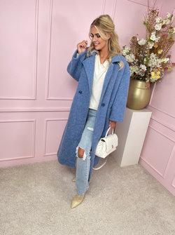 Celine coat blue