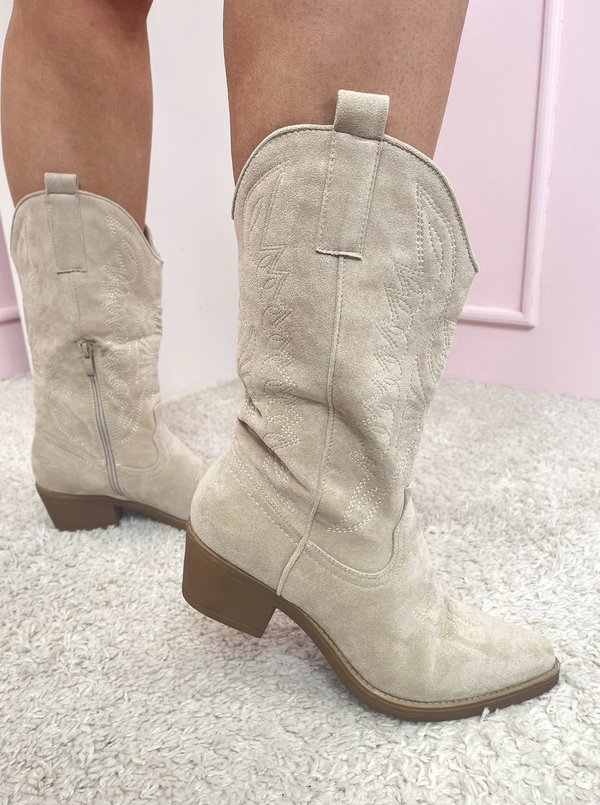 Cowboy boots creme