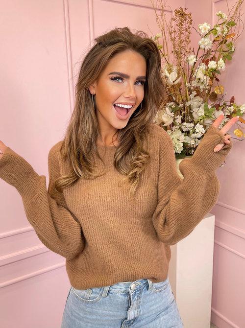 Jumel sweater camel
