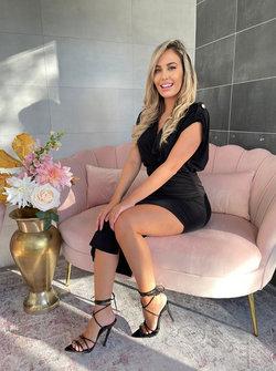 Jenna dress black