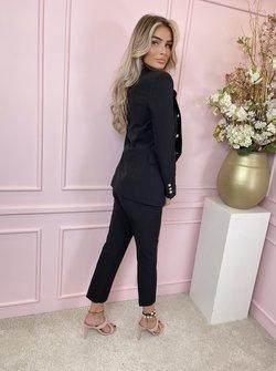 Suit 2 piece black