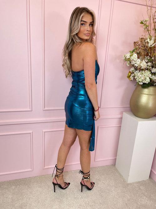 Skye strapless diva dress