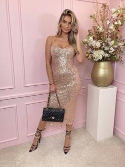 Glam dress rosé