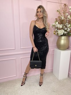 Glam dress black