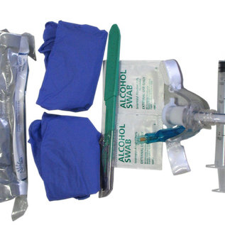Tac-Med solutions Surgical airway kit in hard case
