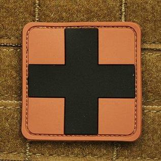 EMT Kruis markeringspatch groot tan