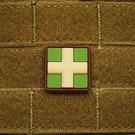 EMT Red cross marker patch small multicam