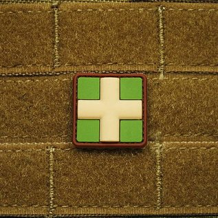 EMT Red cross marker patch small multicam