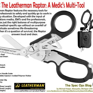 Leatherman Raptor rescue scissors / tool