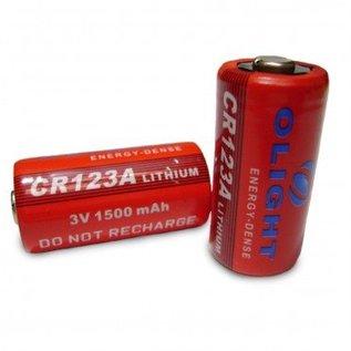 Olight CR123A batterij