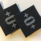 Apatch Blood type patch  O+