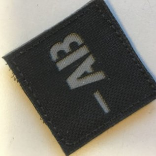 Apatch Bloedgroep patch  AB-