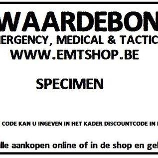 EMT Waardebon 50€