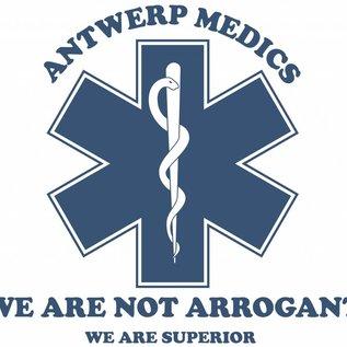 EMT Antwerp Medics Tshirt donkerblauw