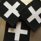 Apatch Cross patch white black