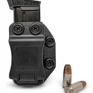 Concealment express IWB/OWB magazine holster black single stack