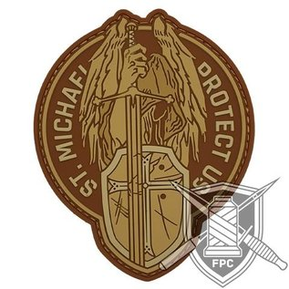 EMT Saint Michael patch