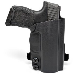 Concealment express OWB paddle holster S&W M&P9 zwart