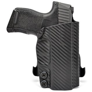 Concealment express OWB paddle holster S&W M&P9 carbon