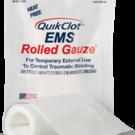 Quikclot EMS rolled gauze
