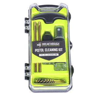 Breakthrough Vision pistol cleaning kit - .38 .357 9mm