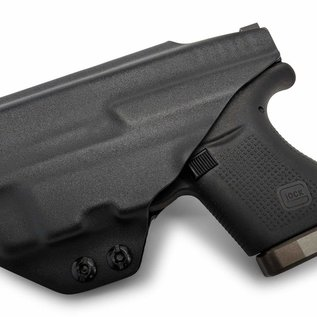 Concealment express IWB Holster Glock 43 zwart TLR-6