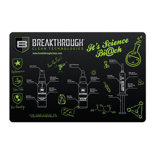Breakthrough Pistol gun cleaning mat