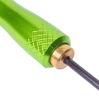 Breakthrough Carbon fibre cleaning rod with rotating handle